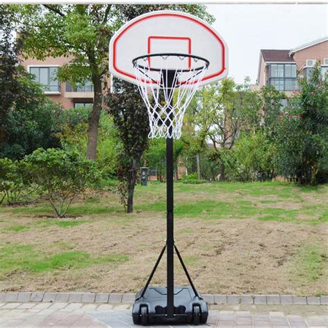 portable kids youth basketball court goal hoop pool indoor