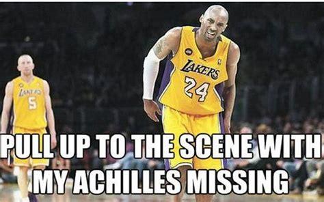 Kobe Bryant Injury Meme - 7 kobe s injury the 25 funniest memes of april 2013