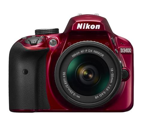 nikon camaras reflex kit de c 225 mara reflex nikon d3400 lente af p dx nikkor 18