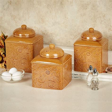 kitchen canister set gold kitchen canister set