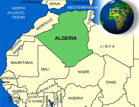 africa map algeria facts algeria search countries africa
