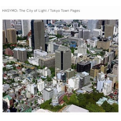 The City Of Light by Hasymo The City Of Light Tokyo Town Pages