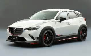 Madza Cx3 Mazda Cx 3 Racing Concept Revealed Practical Motoring