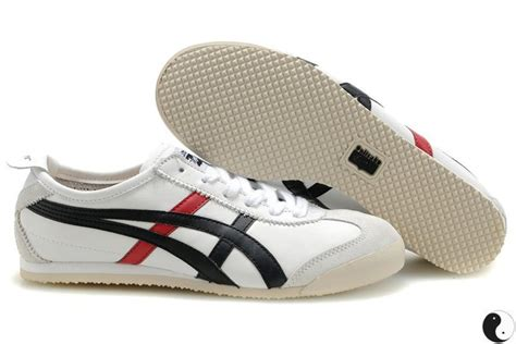 womens onitsuka tiger mexico 66 white black shoes