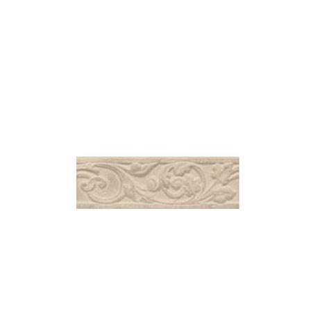 daltile carano floral birch 3 in x 10 in decorative trim