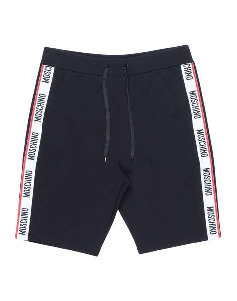 Moschino Sleepwear lyst moschino sleepwear in black for