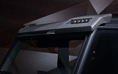 roof top led light bar roof g g550 with roof ladder