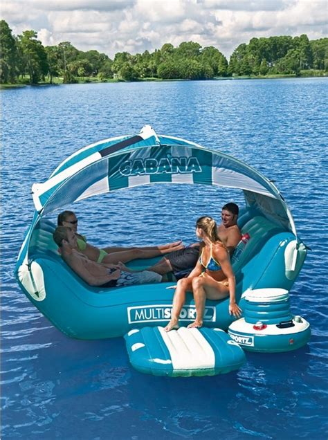 cabana islander floating lounge