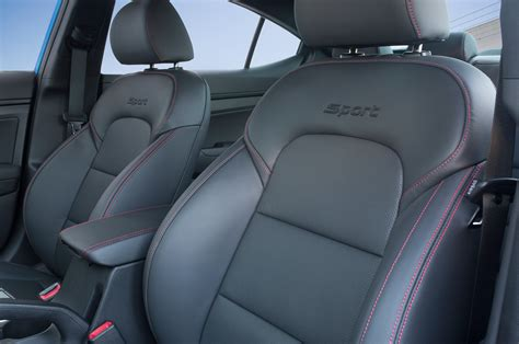 Seat Covers Elantra 2017 2017 Hyundai Elantra Sport Brings A Dose Of Performance To