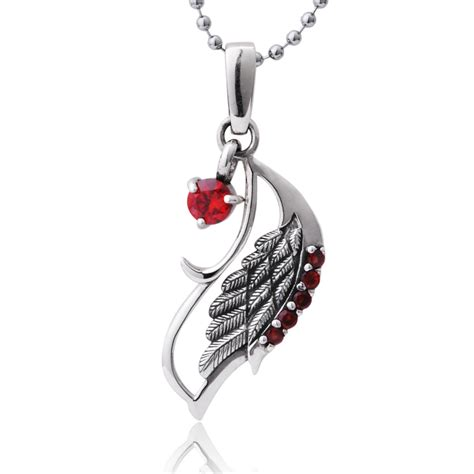 peacock wing 925 sterling silver pendant necklace