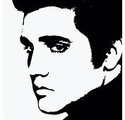 Elvis Silhouette Stencils  Bing Images The King