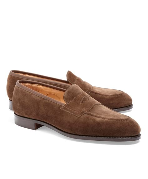 edward green piccadilly loafer s edward green brown piccadilly suede loafers