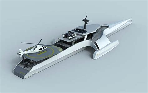 concept for trimaran expedition yachts unveiled the islander - Trimaran Expedition