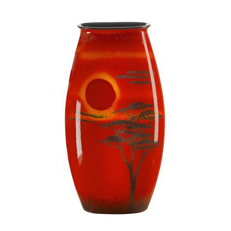African Sky by Poole   Manhattan Vase 36cms (New Shape)