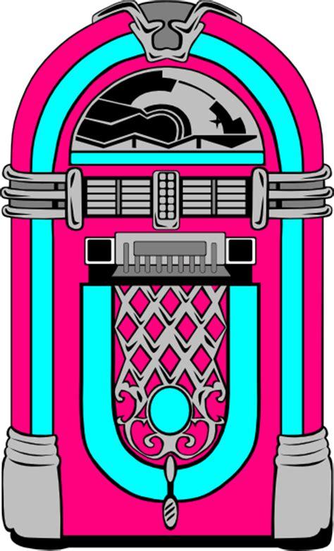 pink  blue jukebox clip art  clkercom vector clip