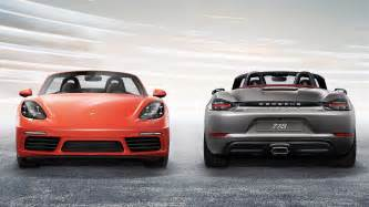 Porsche Boxter S Porsche 718 Boxster S 2016 Autoevolution