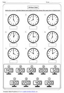 clock worksheets and charts
