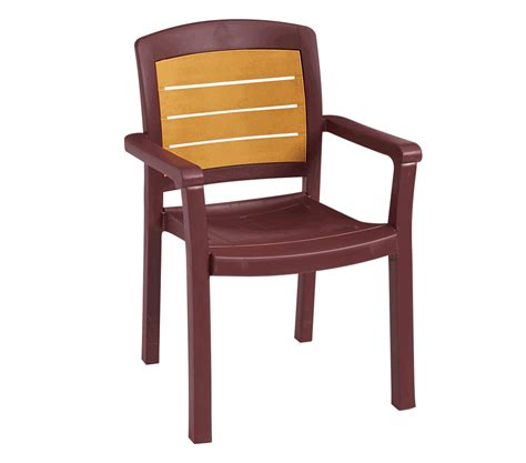 Restaurant Dining Chair Outdoor Wood Dining Chairs Grosfillex Acadia Teakwood Classic Stacking Synthetic Wood Outdoor