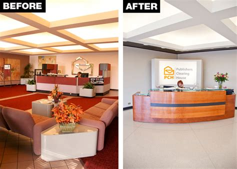 Publishers Headquarters Sweepstakes - look at the new lobby design at pch office headquarters pch blog