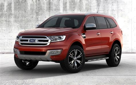 ford best suv 2015 ford everest revealed to be best 7 seat suv on sale