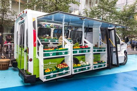 mobile market farmer s market on wheels delivers veggies to toronto s