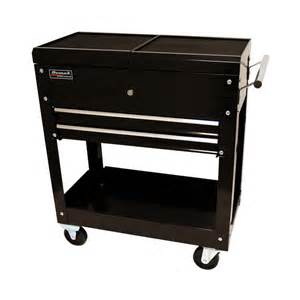 shop homak 30 in 2 drawer utility cart at lowes com