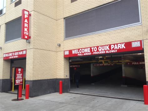 Quik Park Garage by Parking Garage Opens In Linc Lic The Court Square