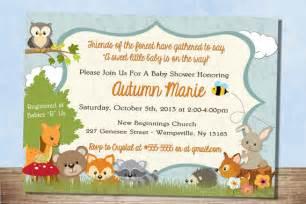 animal themed baby shower invitations iidaemilia