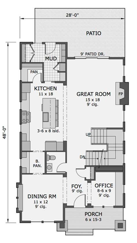 planos casas americanas plano de casa americana de dos plantas tres dormitorios