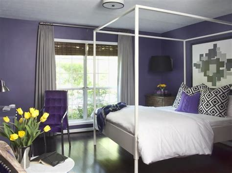purple and grey bedroom walls purple gray walls design ideas