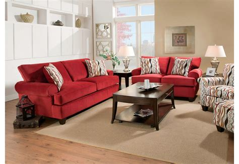 red living room furniture red living room set home design plan