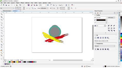 tutorial menggambar di coreldraw x7 cara mudah mendesain menggunakan contour dan extrude di