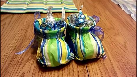 How To Make A Baby Out Of Paper - tissue paper baby booties tutorial