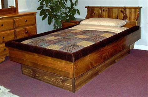 classic pine bookshelf waterbed frame northern sleep