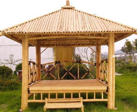 Bamboo Gazebo   Bamboo Pavilion ? House ? Pergola ? Patio