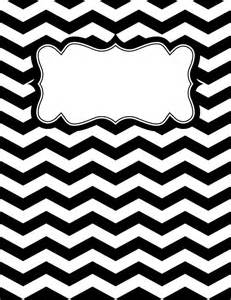 black and white binder cover templates chevron binder cover templates a few options for a cover