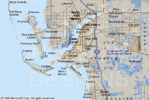 map of florida fort myers lehigh acres fl pictures posters news and on