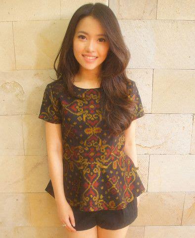 Manggar Jumbo Big Size Blouse Batik Motif Baju Atasan Wanita Bigsize 90 best kebaya images on batik dress batik