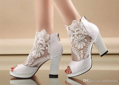 Wedding Shoes For Cheap by 2015 Cheap Wedding Shoes With Kitten Heels Peep Black