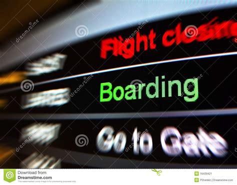 rooming in flight boarding stock image image of departures international 16439421