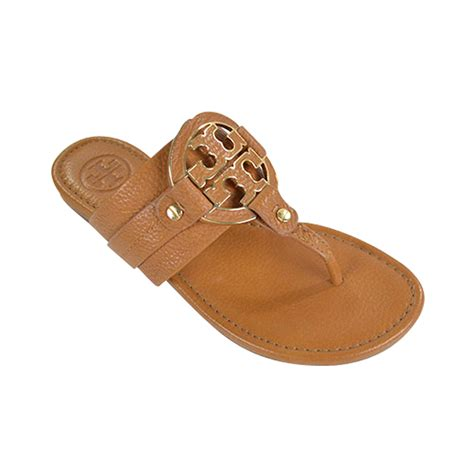 burch amanda sandal nib burch amanda flat tumbled leather sandals