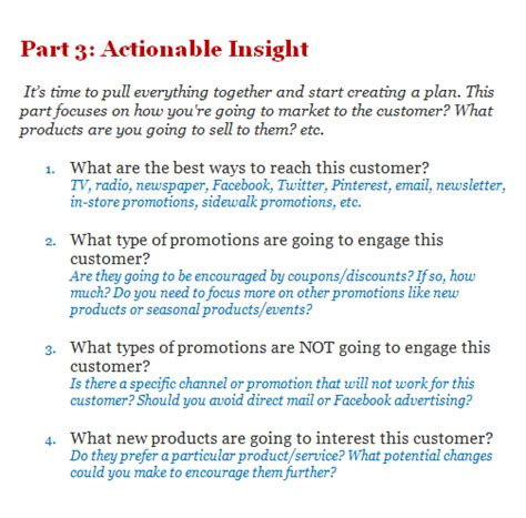 customer profile template demand metric 5 exles of ideal customer profile aeroleads 23