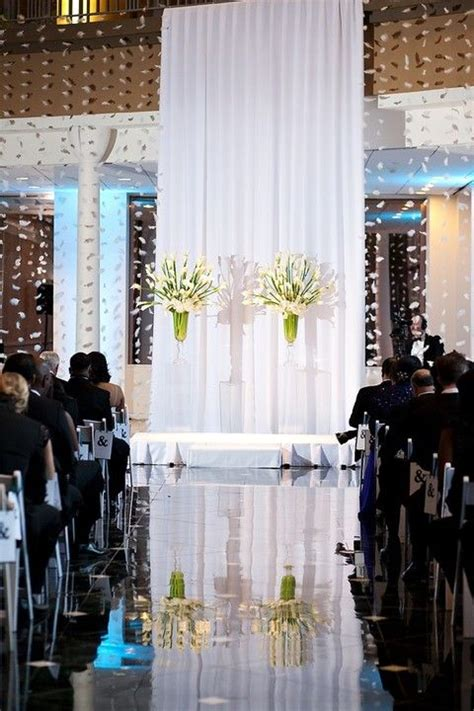 wedding backdrop indoor 49 best images about indoor wedding ceremony backdrops on