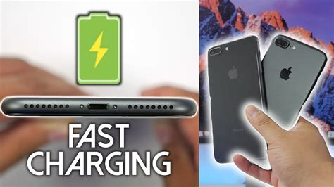 iphone 8 plus how fast is fast charging iphone 7 plus comparison