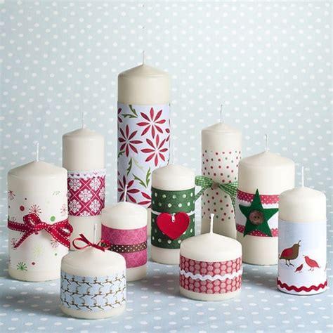 candele fai da te natale le candele natalizie fai da te