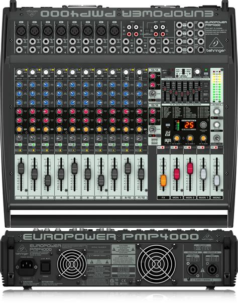 audio mixer console the best audio mixer consoles powered unpowered gearank