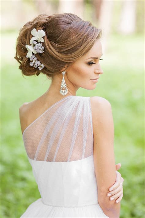 Bridal Hairstyles With Flowers by Trubridal Wedding Bridal Hairstyles Archives