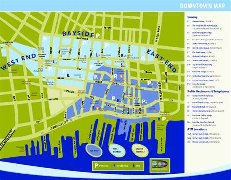portland oregon tourist map of america hawthorne bridge portland oregon