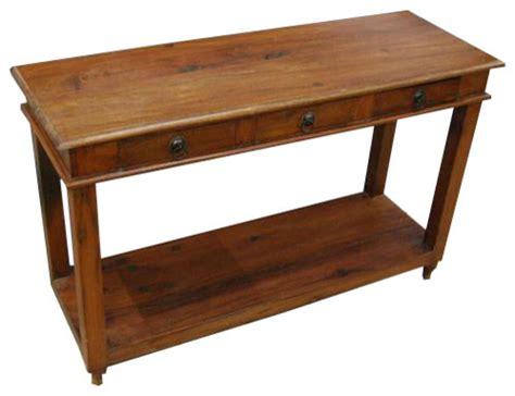 solid mahogany wood entry wall console sofa table solid wood entry sofa console foyer table rustic