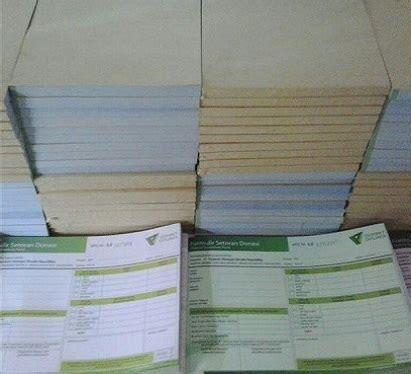 Kertas Invoice percetakan faktur percetakan